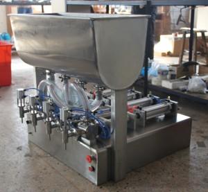 4 head filling machine