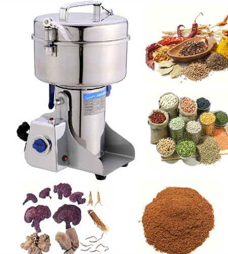 portable Spice & Herb Grinder machine